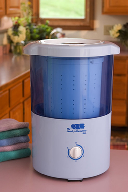 Mini Countertop Spin Dryer Laundry Alternative