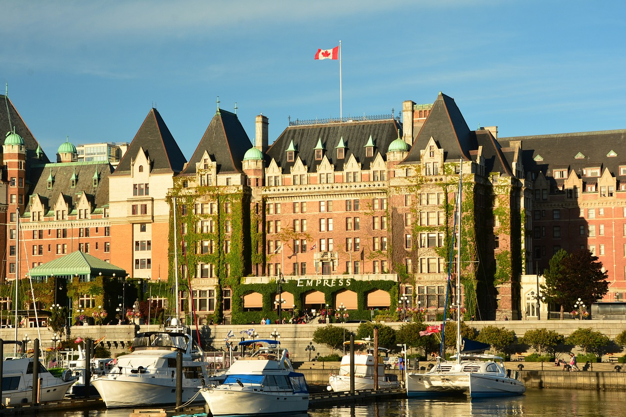 Empress Hotel in Vancouver