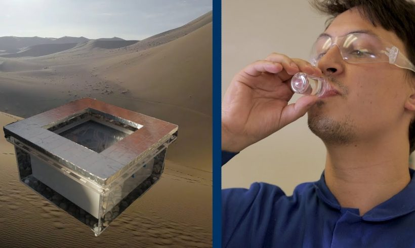 This Device Lets You Harvest Water From Air, Even in the Desert