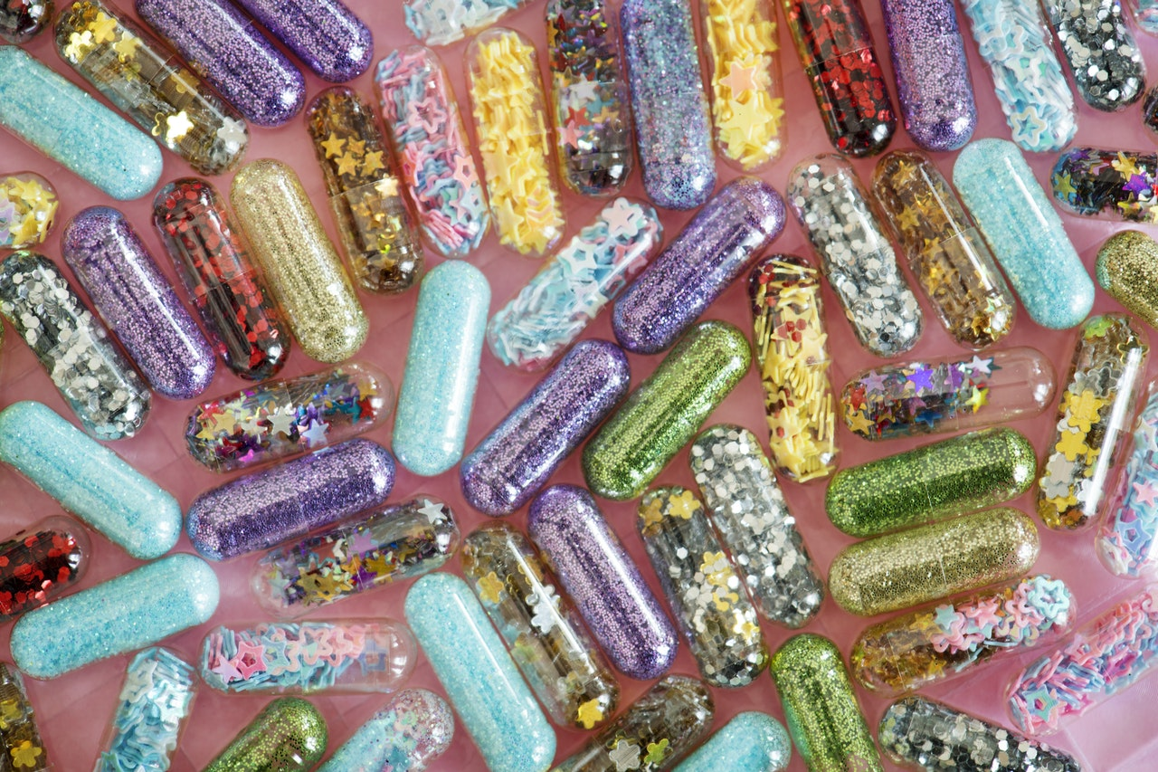 glitter is micro plastic that can't be recycled