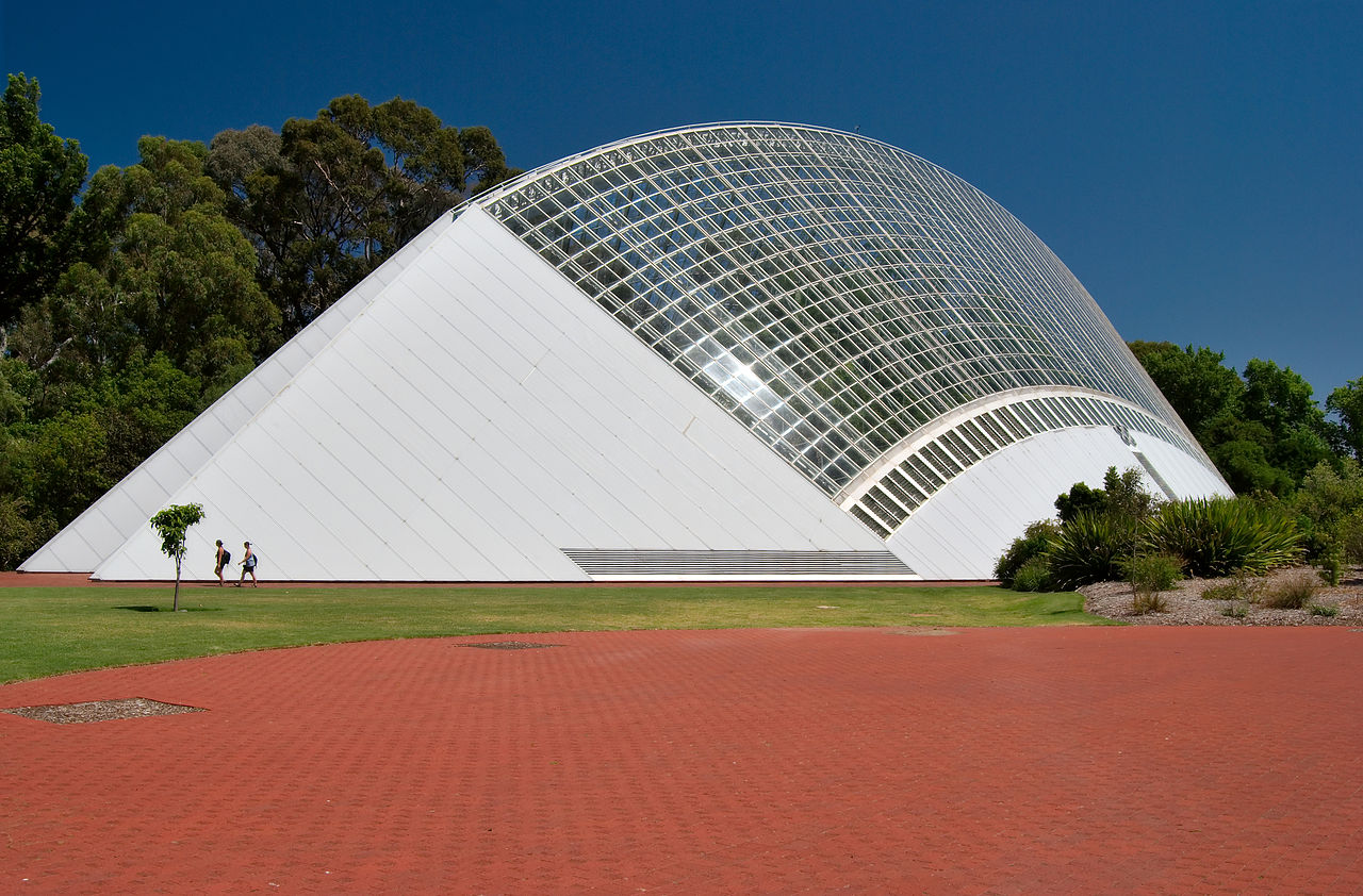 Adelaide tropical conservatory