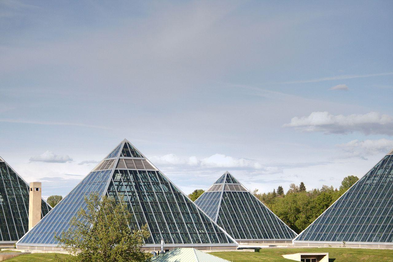 Muttart Conservatory Edmonton Alberta Canada