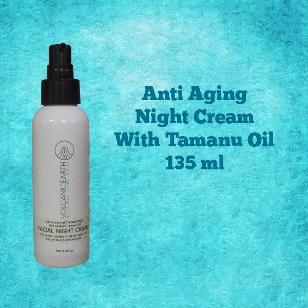 Anti Aging Night Cream Tamanu Oil
