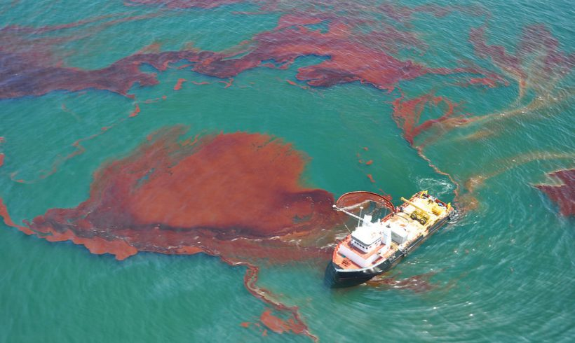 Combating Oil Spill With In The Most Natural Way Using Bacteria