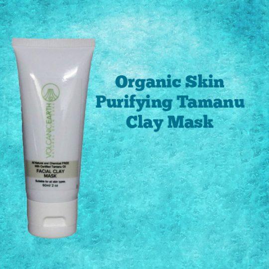 Organic Tamanu Oil Clay Mask