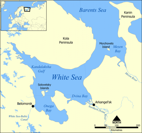 White_Sea (Wikimedia Commons)