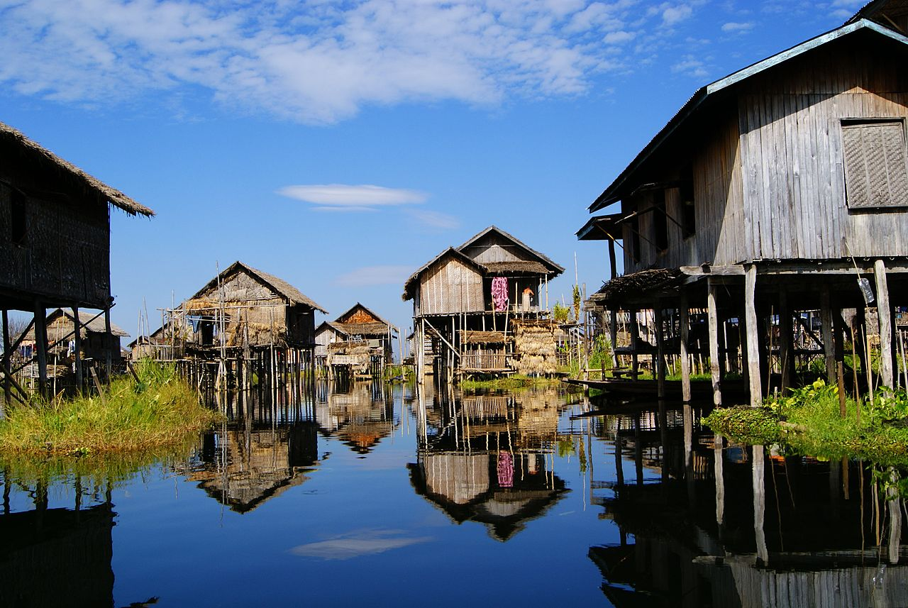 Inle Yawnghwe by 3coma14 Wikimedia Commons