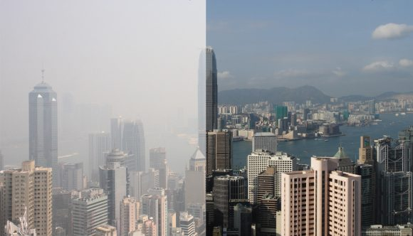 Hong_kong_haze_comparison (Wikimedia Commons)