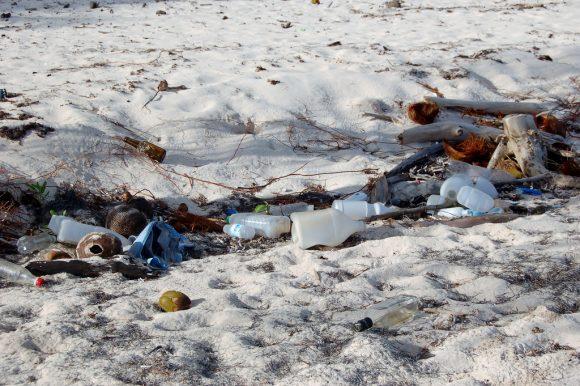 Trash In Saona Island by Bruce 948
