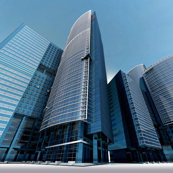 architecture-blue-sky-