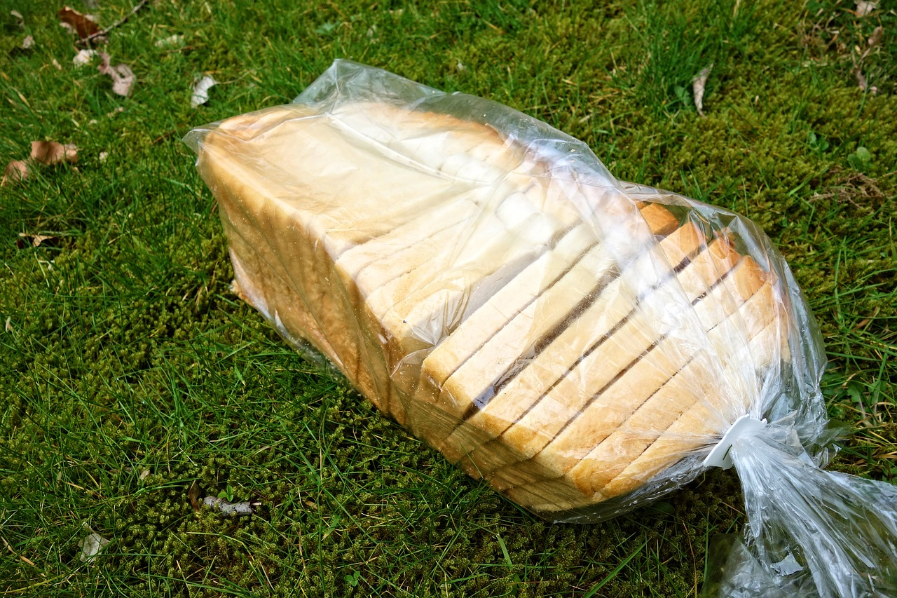 plastic wrap for bread