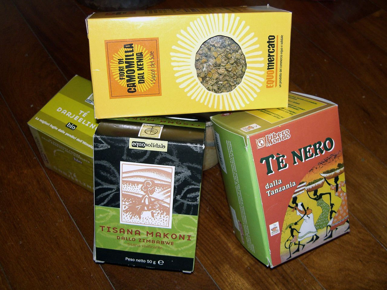 Fair Trade Tea by Rosco Wikimedia Commons