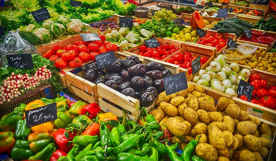 Organic Fresh Eating Vegetables Healthy Food