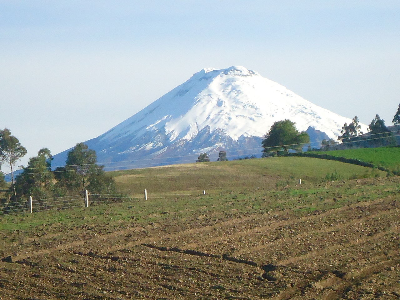Cotopaxi by David C. S. Wikimedia Commons