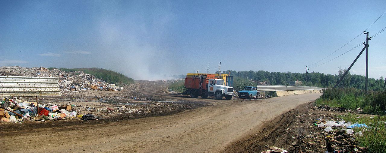 Landfill by arzy Wikimedia Commons
