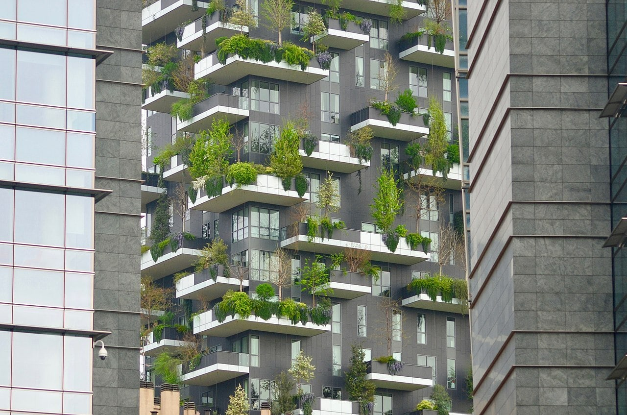 Bosco Verticale by Greta Cadei Wikimedia Commons