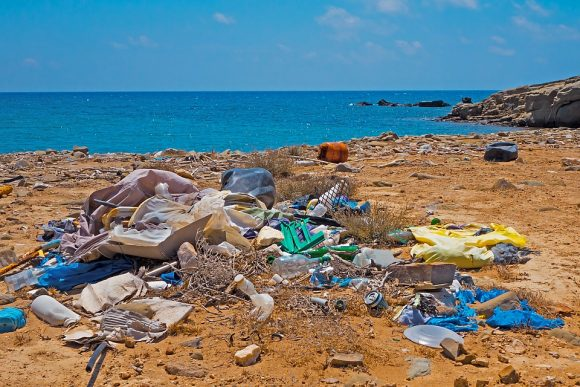 Plastic Waste Environmental Sin Beach Garbage