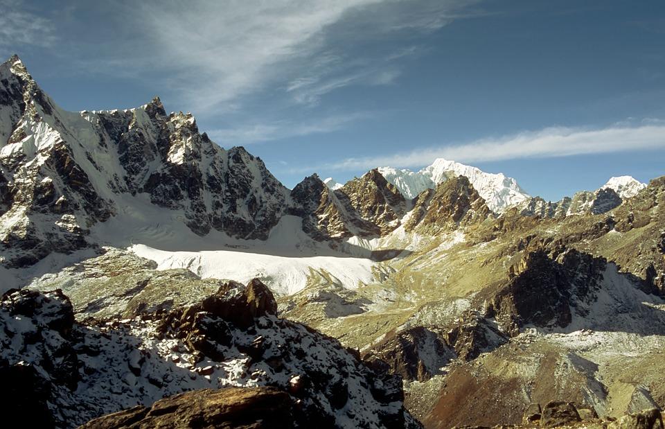 Himalaya Glacier Nature Mountain Trekking Nepal