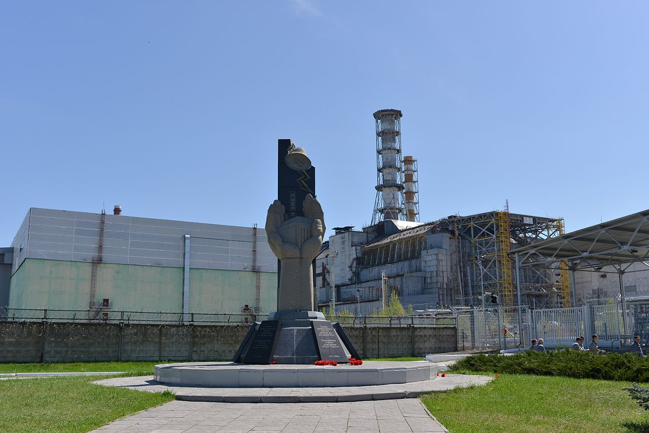 the infamous reactor no. 4 by Babiesan Wikimedia Commons