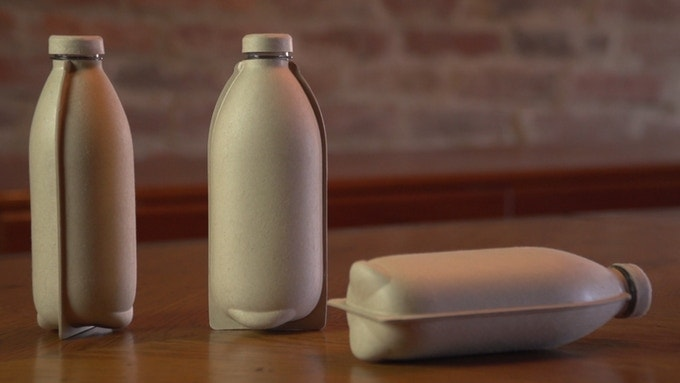Paper Water Bottle (Kickstarter)