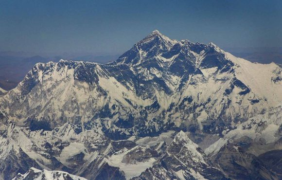 Mt. Everest by babasteve Wikimedia Commons