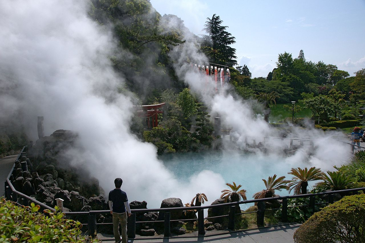 Beppu by 663highland Wikimedia Commons