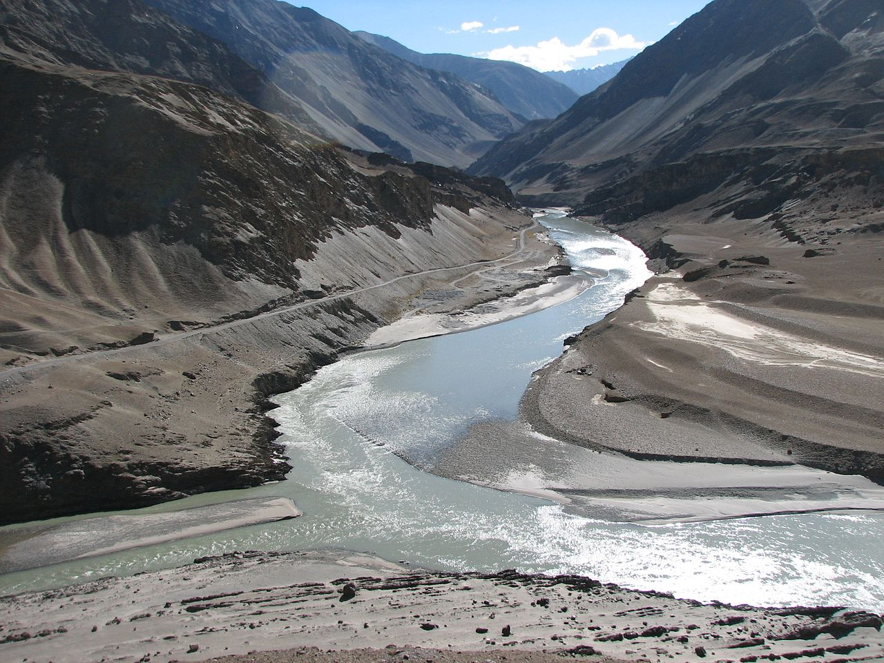 Indus River by Henk Monster Wikimedia Commons