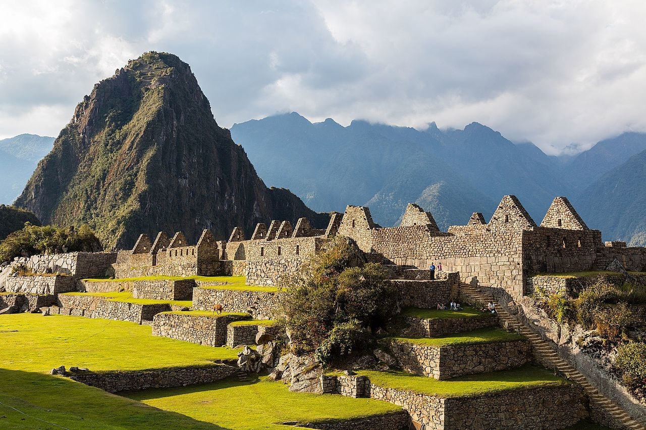 The infamous site of Machu Picchu by Diego Delso Wikimedia Commons