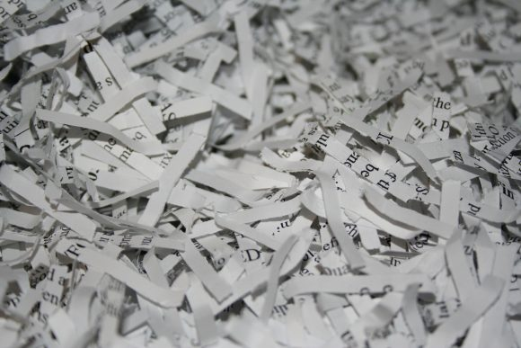 Shredded (Wikimedia Commons)