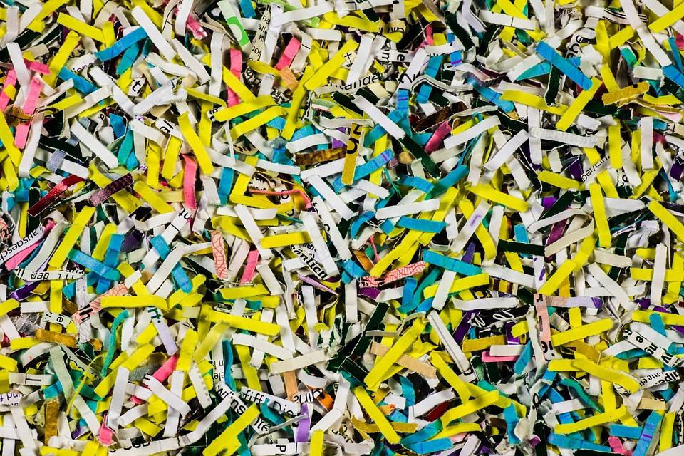 Kết quả hình ảnh cho paper after shredding