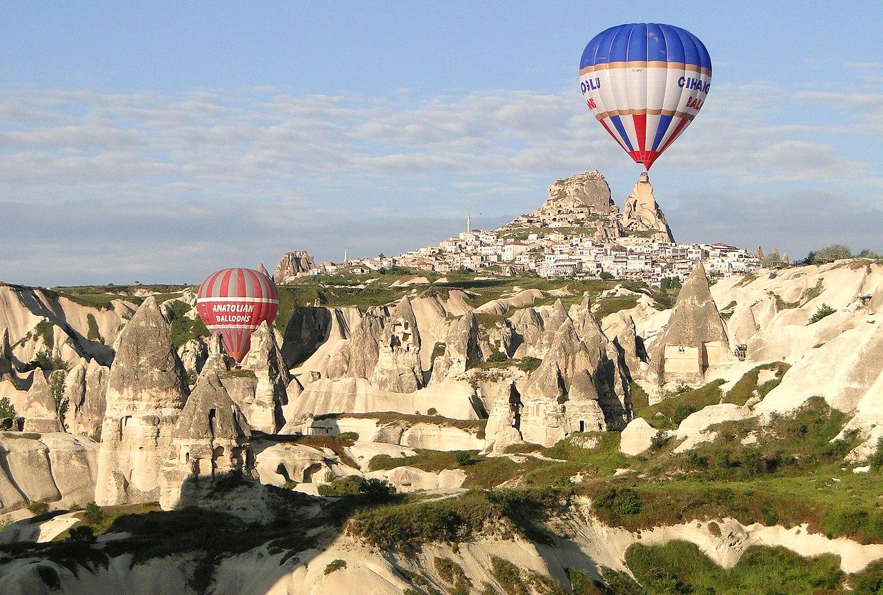 Goreme, Turkey by Adam Jones Wikimedia Commons