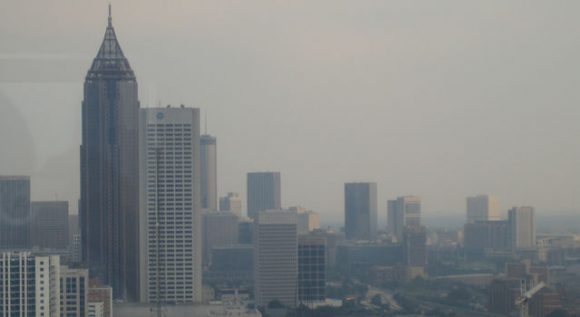 Poor air quality (NASA)
