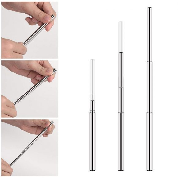 Telescopic Straws - Collapsible Drinking Straws