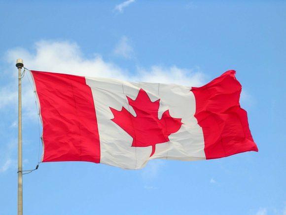 canada flag (Wikimedia Commons)