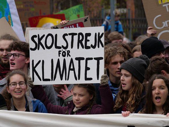 child activist protest (WIkimedia Commons)