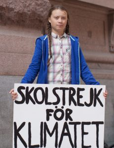 Greta_Thunberg poster (WIkimedia Commons)