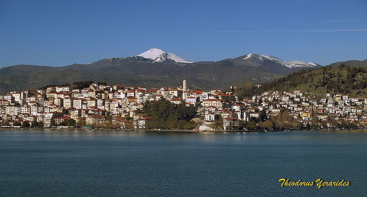a view of Kastoria by Teogera Wikimedia Commons