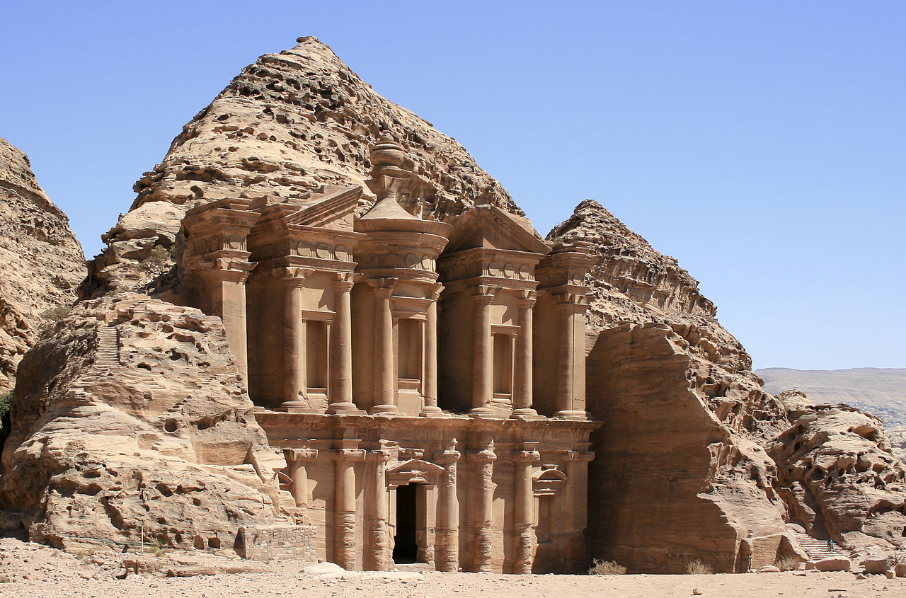 Petra, Jordan by Diego Delso Wikimedia Commons