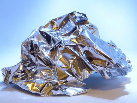 aluminum foil used