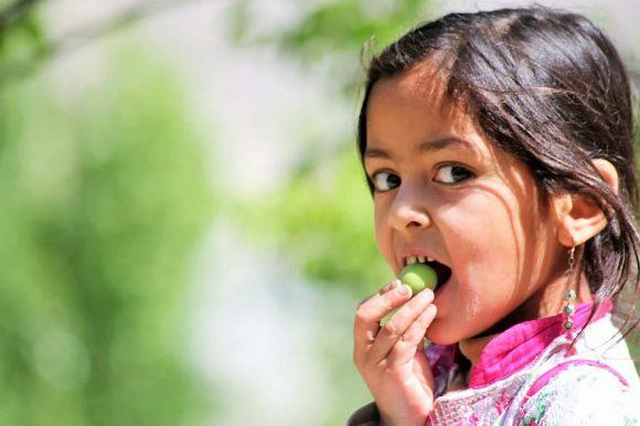 kid eating copenhagen