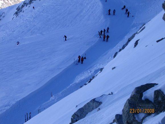 presena glacier ski
