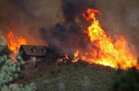 california wildfire 2