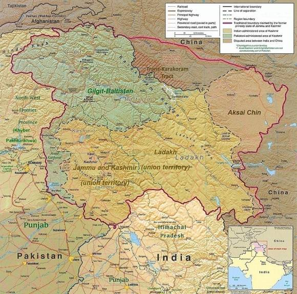 Ladakh territory (Wikimedia Commons)