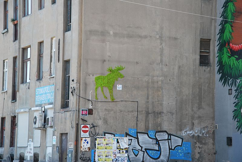Arent You Interested In Making Eco-Friendly Moss Graffiti?