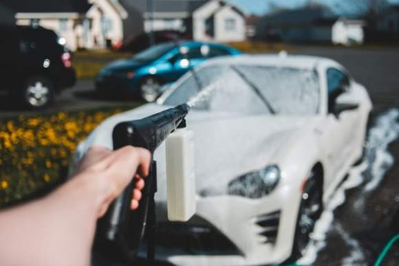 car wash water