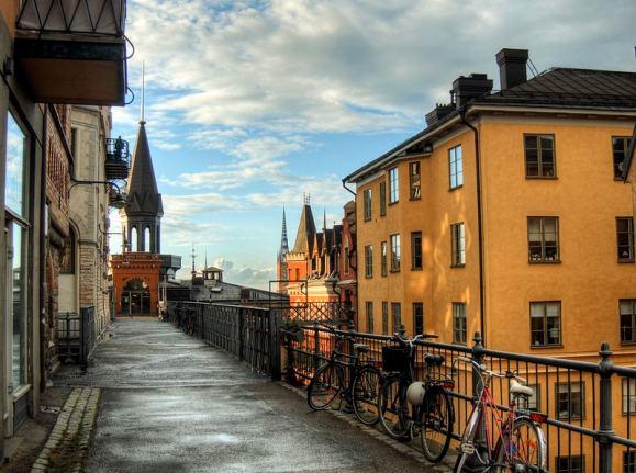 Streets in Slussen by Neil Howard