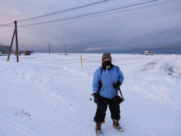 Dr.-Leslie-Field-in-Alaska (Arctic Ice Project)