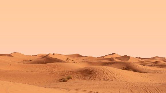 desertification sand dunes dirty