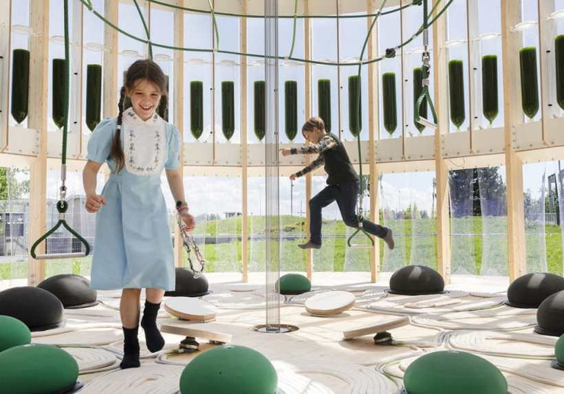 This Playground Absorbs Children's Soul! Oh, We Mean Energy.