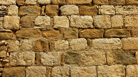 Old Earth Brick No Person Straw Wall Pierre